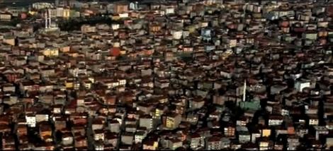 [Foto: Totale Häuser in Istanbul]